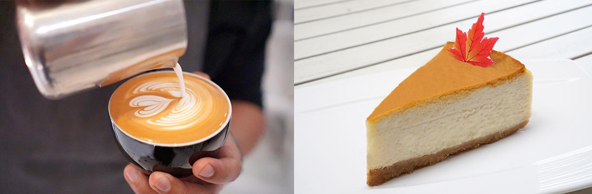 Coffee & Maple Cheescake